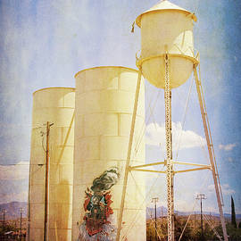 Water Tower Kingman Arizona by Tatiana Travelways