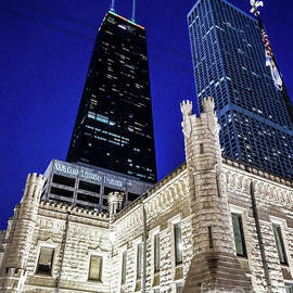 Water Tower Place Chicago Skyline by DRD Images