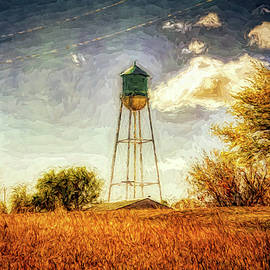 Water Tower South Dakota by Tatiana Travelways