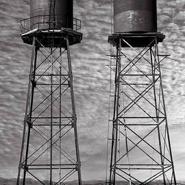 Water Towers, Death Valley California 2020 by Michael Chiabaudo