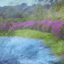 Watercolor Marsh Loosestrife by Patti Deters