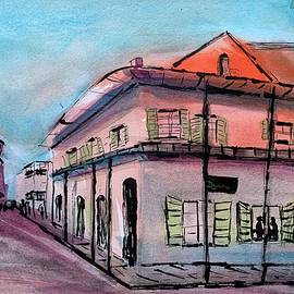 Watercolor New Orleans  by Karen Harding