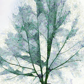 Watercolor Spring Tree by Terry Davis