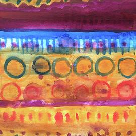 Watercolor Stripe by Nancy Merkle