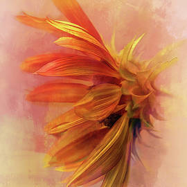 Watercolor Sunflower by Terry Davis