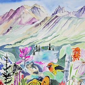 Watercolor - Telluride Memories by Cascade Colors