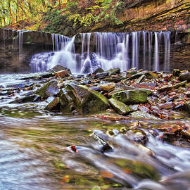 Waterfall At Tinker's Creek by Marcia Colelli