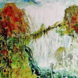 Waterfall by Daniel Bulimar Henciu