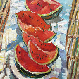 Watermelon by Juliya Zhukova