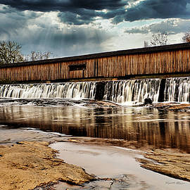 Watson Mill Covered Bridge S.P. by Russell Adams