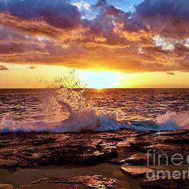 Waves at Sunset by Craig Wood