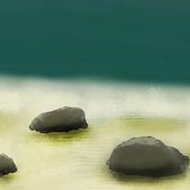 Waves like Silk by Julie Grimshaw