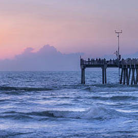 Waves of Gulf of Mexico, Venice, Florida by Liesl Walsh