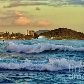 Waves Off Makaha Beach by Craig Wood