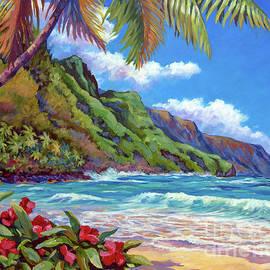Waves on Na Pali Shore by John Clark