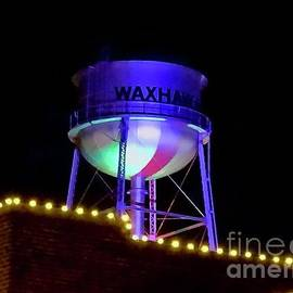 Waxhaw Water Tower at Christmas by Eunice Warfel