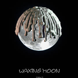 Waxing Moon by Brian Wallace
