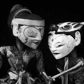 Wayang Golek puppets-1 by Rudy Umans