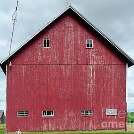 Weathered Iowa Barn by Linda Brittain