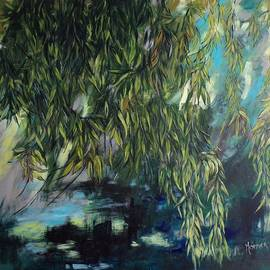 Weeping Willow by Cathy MONNIER