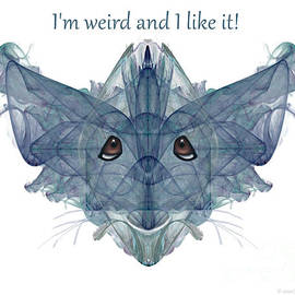 Weird Little Fractal Character by Zannie Joy