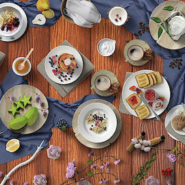 Welcome To My Healthy And Delicious Breakfast Table by Johanna Hurmerinta