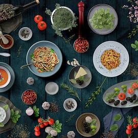 Welcome To My Pasta Night by Johanna Hurmerinta