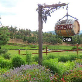 Welcome to Oregon Wine Country - Tasting Rooms and Orchards - Decorative Entrances  by Brooks Garten Hauschild