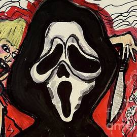 Wes Craven Scream by Geraldine Myszenski