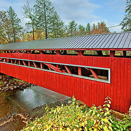 West and East Paden Twin Bridges by Marcia Colelli