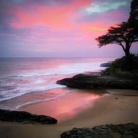 West Cliff Sunset by Christina Ford