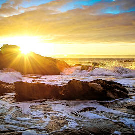 West Coast Sunset by Susan Hope Finley