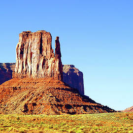 West Mitten, Monument Valley by Douglas Taylor