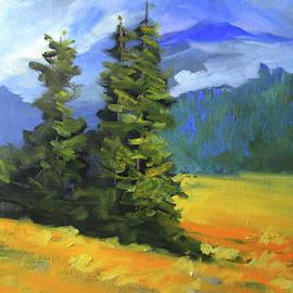 Western Evergreen by Nancy Merkle