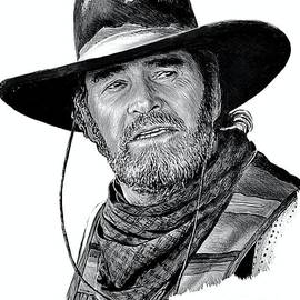 Western Icons 4 James Garner by Andrew Read