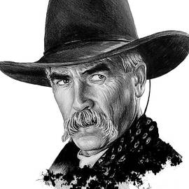 Western Icons 5 Sam Elliot by Andrew Read