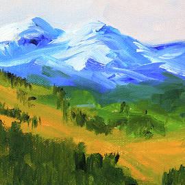 Western Range by Nancy Merkle