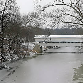 Westport Covered Bridge 737, Indiana by Steve Gass