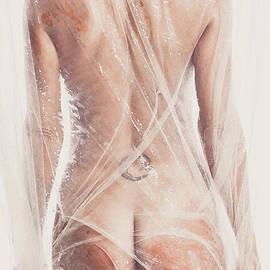Wet draped backside by Jt PhotoDesign