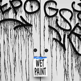 Wet Paint by Dave Bowman