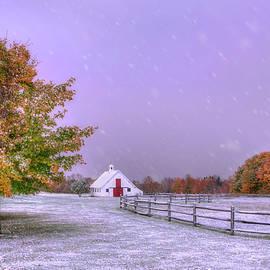 When Autumn Meets Winter by Joann Vitali