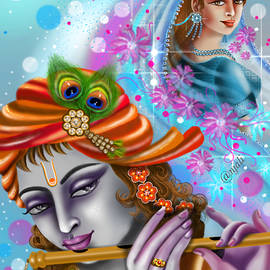 When Krishna is missing Radha by Anjali Swami