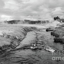 Where The Firehole River Begins  by Jeff Swan
