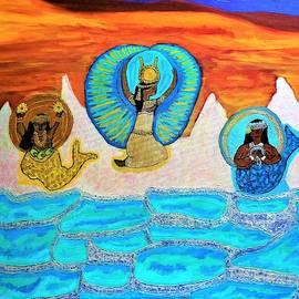 Where the Goddesses Meet _Pamukkale by Jacirendi Xakhar