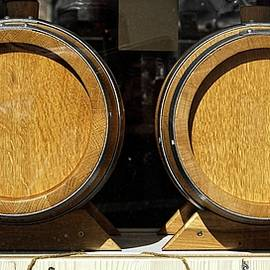 Whiskey Casks, Madison, Wisconsin by Steven Ralser