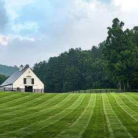 White Barn by Mary Ann Artz