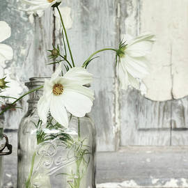White Blossoms by Lori Deiter