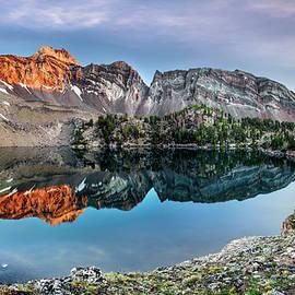 White Clouds Light Idaho by Leland D Howard