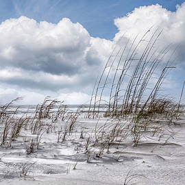 White Clouds over White Sands by Debra and Dave Vanderlaan