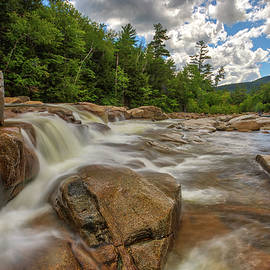 White Mountain National Forest Lower Falls by Juergen Roth